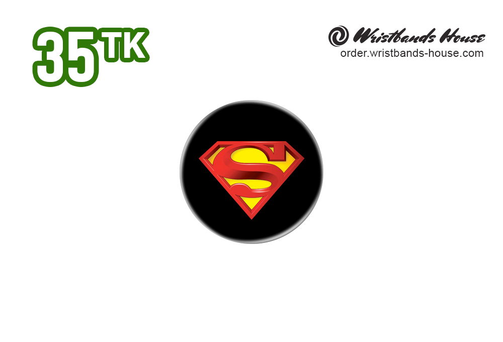 Superman 32mm Badge