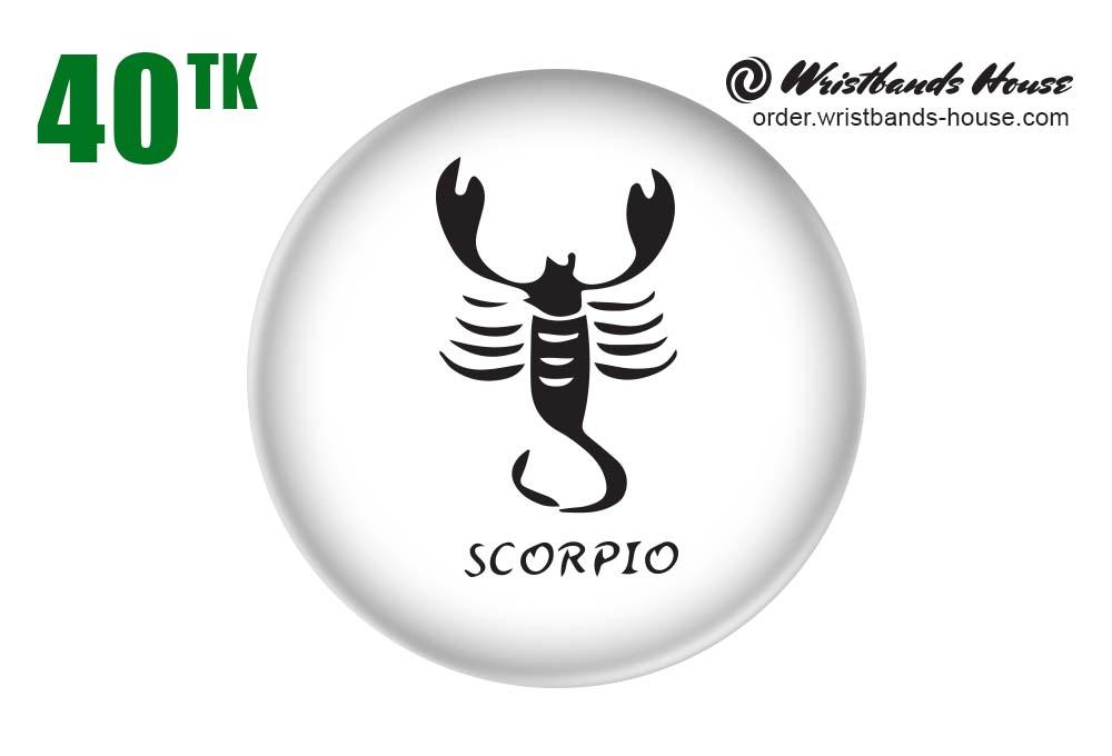 Scorpio Badge