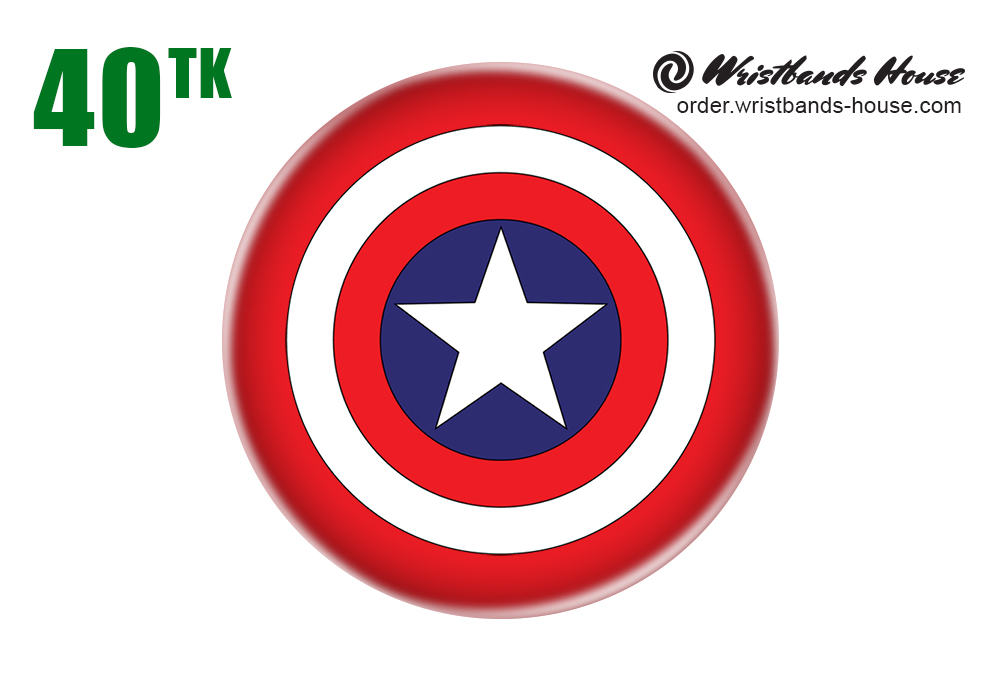 Captain of America Badge