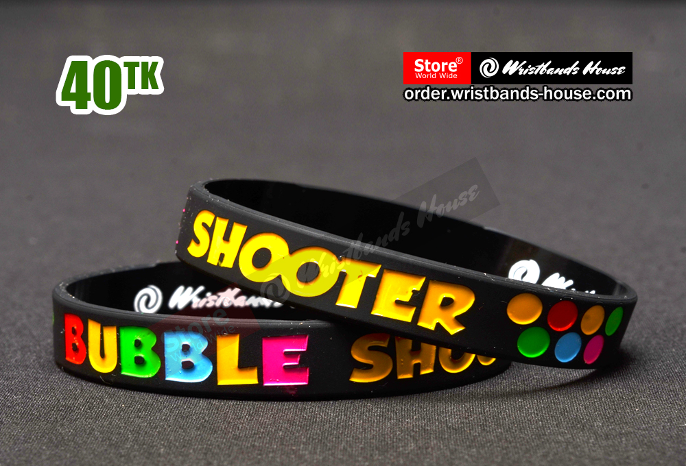 Bubble Shooter Black 1/2 Inch
