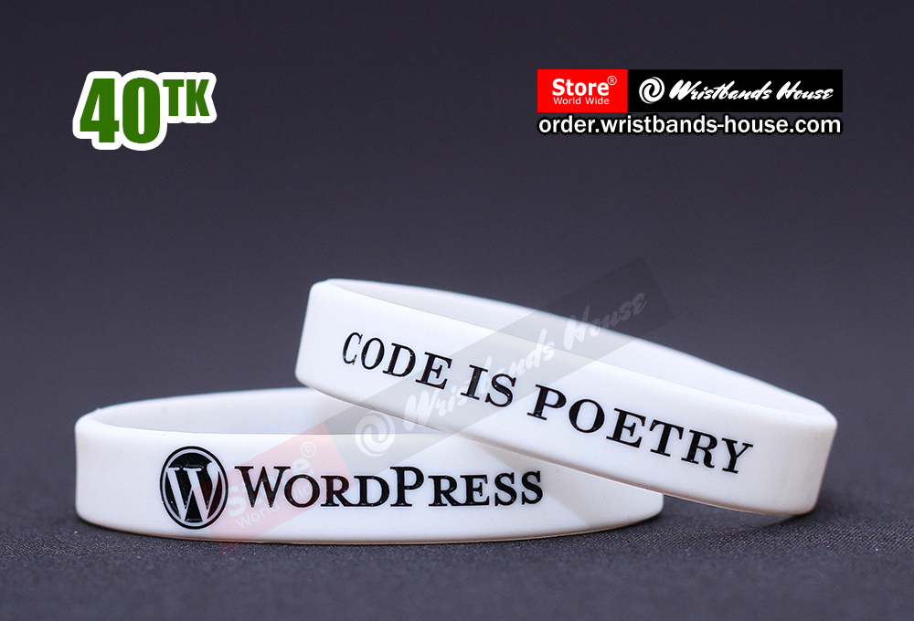 Wordpress White 1/2 Inch