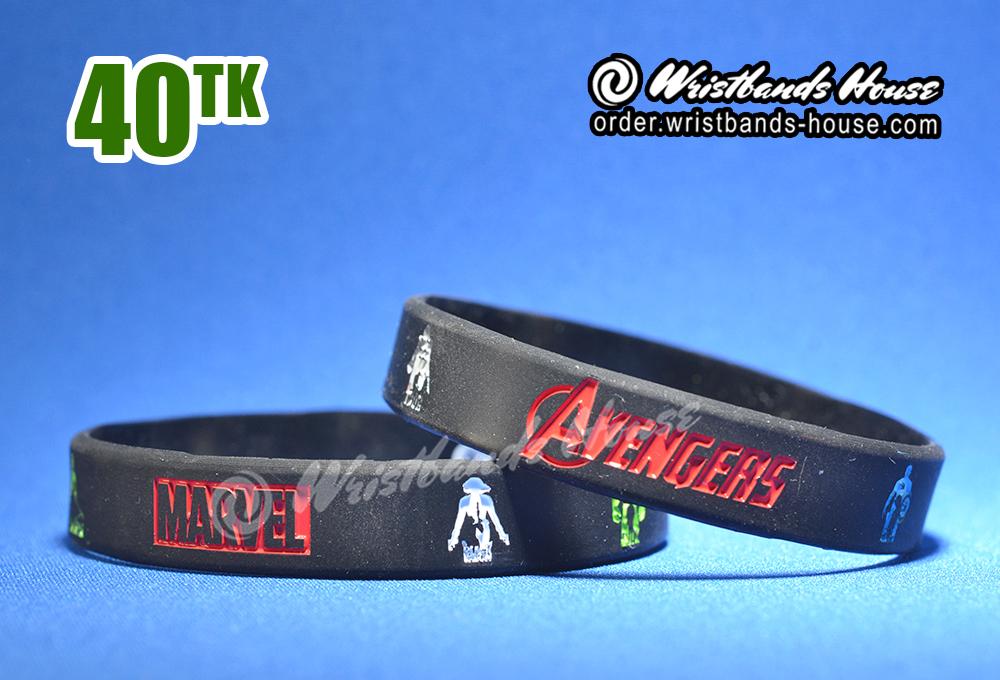 Avengers Black 1/2 Inch
