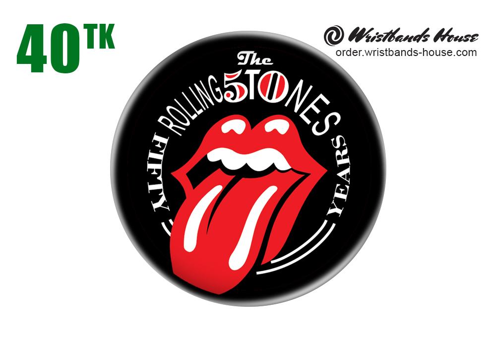 Rolling Stones Badge
