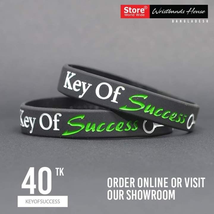 Key Of Success Black 1/2 Inch