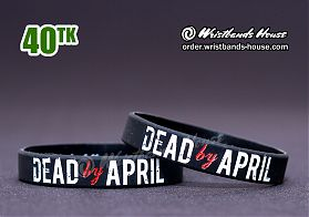 Dead by April Black 1/2 Inch