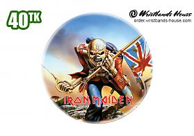 Iron Maiden Badge