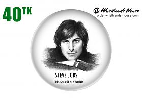Steve Jobs Badge