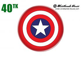 Captain of America Badge