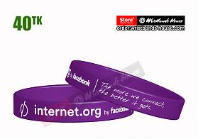 Internet.org Purple 1/2 Inch
