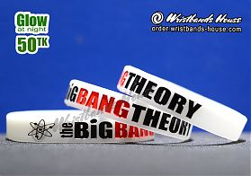 The Big Bang Theory White Glow 1/2 Inch
