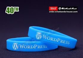 Wordpress Blue 1/2 Inch