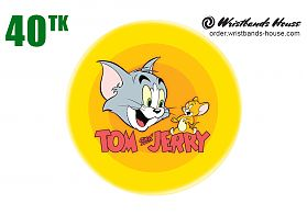 Tom & Jerry Badge