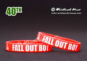 Fall Out Boy Red 1/2 Inch