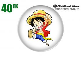 Luffy Badge