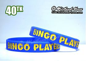 Bingo Players Blue 1/2 Inch