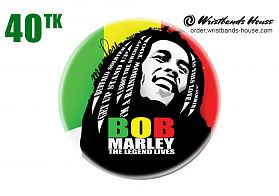 Bob Marley Legend Badge