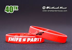 Knife Party Red 1/2 Inch