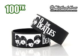 The Beatles Black 1 Inch
