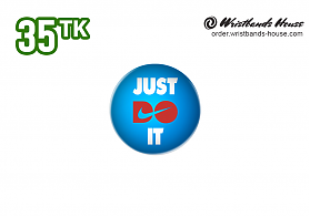 Just Do it 32mm Badge