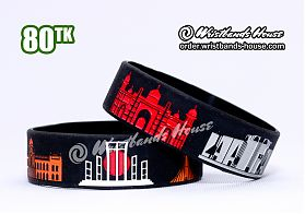 Dhaka Historial Places Black 3/4 Inch