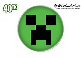 Minecraft Badge
