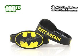 Batman Figured Wristbands Black