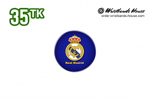 Real Madrid 32mm Badge