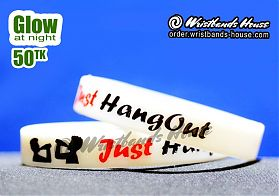 Just Hangout White Glow 1/2 Inch