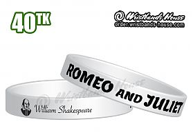 William Shakespeare Transparent 1/2 Inch