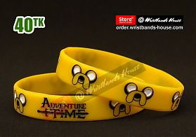 Adventure Time Yellow 1/2 Inch