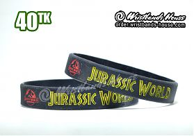 Jurassic World Black 1/2 Inch