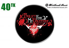 Bullet For Valentine Badge