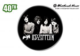 Led Zeppelin Badge