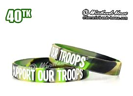 Support Our Troops 1/2 Inch