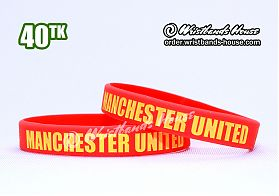 Manchester United Red 1/2 Inch