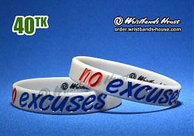 No Excuses Grey 1/2 Inch