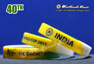 India ICC Yellow-Green-White 1/2 Inch