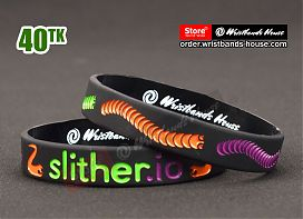 Slither.io Black 1/2 Inch