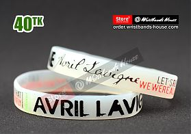 Avril Lavigne Transparent 1/2 Inch