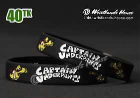 Captain Underpants Black 1/2 Inch