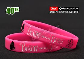 Beauty And The Beast Pink 1/2 Inch