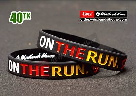 On the run black 1/2 Inch