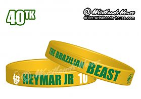 Neymar Jr Yellow 1/2 Inch
