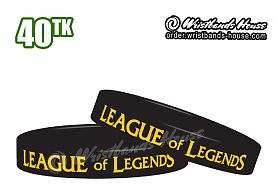 League of Legends Black 1/2 Inch