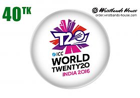 ICC World T20 2016 Badge