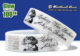 Beethoven White Glow 3/4 Inch