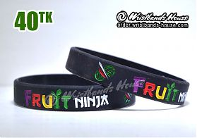 Fruit Ninja Black 1/2 Inch