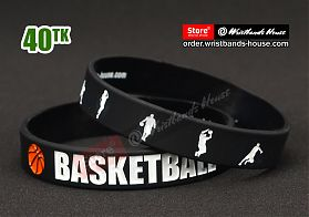 BasketBall Black 1/2 Inch