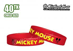 Mickey Mouse Red 1/2 Inch Child