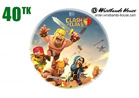 Clash of Clans Pin Badge